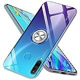bafeibili Coque de Protection en Silicone TPU pour Huawei P20 Lite/P30 Lite/P30/P30 Pro avec Anneau...
