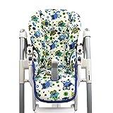 BambiniWelt - Funda de repuesto para silla Peg Perego Prima Pappa Diner (7colores), diseño de búhos Eule Motiv §10