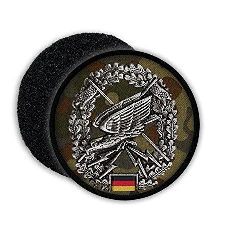 Copytec Patch BW Fernspäh Barett Abzeichen FST Einheit Bundeswehr Patch Tarnung Adler #20859