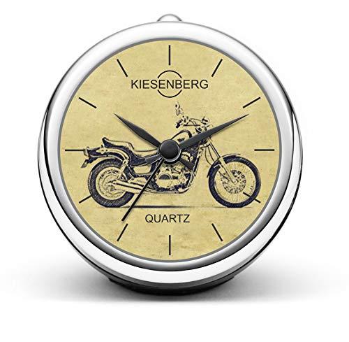 KIESENBERG Design Orologio da Tavolo Regalo per EN 500 A/B Fan Clock T-5230