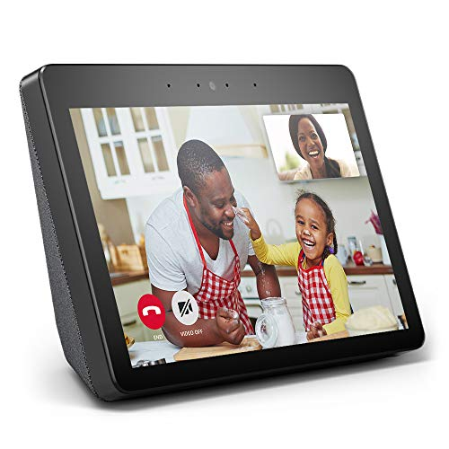 "Echo Show (2nd Gen) – Premium sound and a vibrant 10.1"" HD screen - Charcoal (Electronics)"