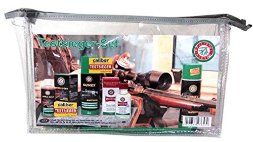 BALLISTOL Testsieger-Set - Das praktische Reinigungs-Set Waffenpflege mit den unschlagbaren Testsiegern Robla Solo MIL, Gunex Waffenöl, Öl und EIN Reinigungstuch