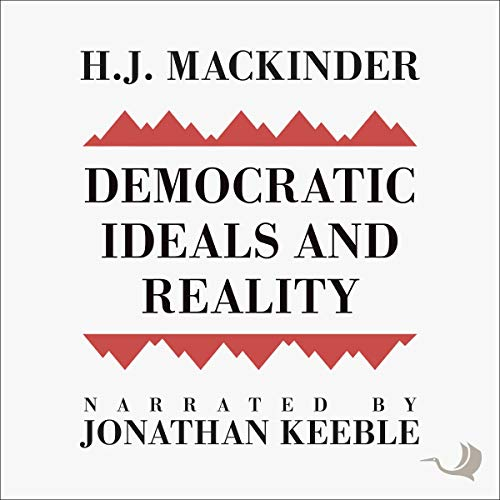 Democratic Ideals and Reality audiobook cover art