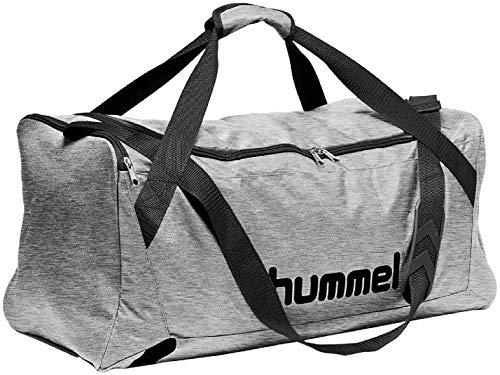 Hummel CORE Sports Bag - Sporttasche Tasche, Grau Melange, M
