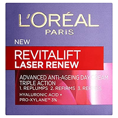L'Oreal Paris Revitalift, Anti Aging Skin Care, Laser Renew Day Cream Moisturiser