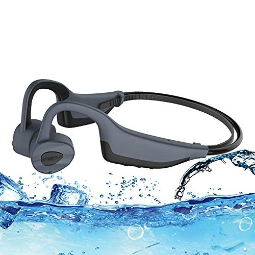 Kopfhörer, Schwimmen Knochenleitungskopfhörer 16GB IP50 Wasserdicht und Staubdicht Professioneller Bluetooth Drahtloser Schwimmen Mp3-Player, Laufsport Radfahren
