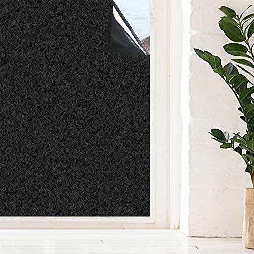 LMKJ Película Opaca para Ventanas, Cortinas Opacas electrostáticas, Adecuada para oscurecer Pegatinas en Habitaciones Familiares, película de Vidrio A93 40x100cm