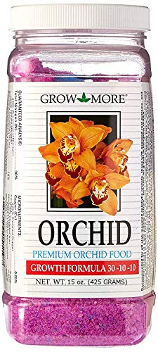 Grow More 5119 Orchid Food 30-10-10, 15 oz