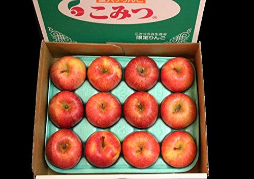 青森産りんご 蜜たっぷり!! こつぶのこみつ 特選グレード12個入(化粧箱)※只今、好評販売中です。