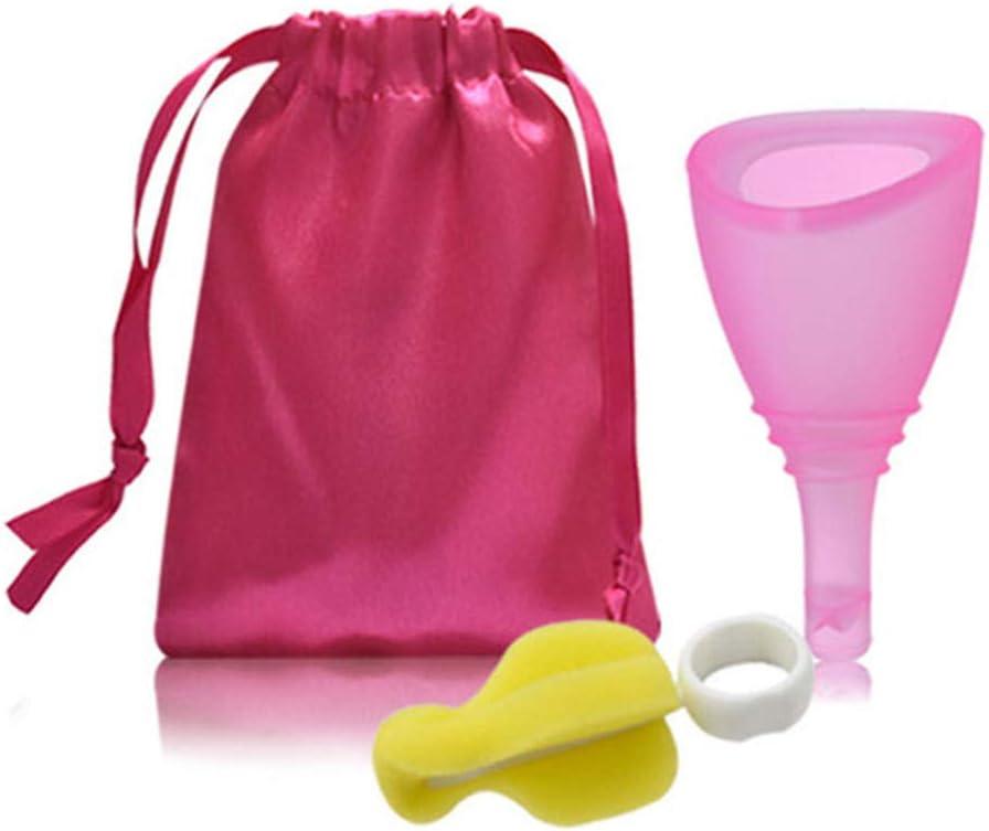 Menstrual Taza - Medición Menstrual, Silicona Válvula Copa ...
