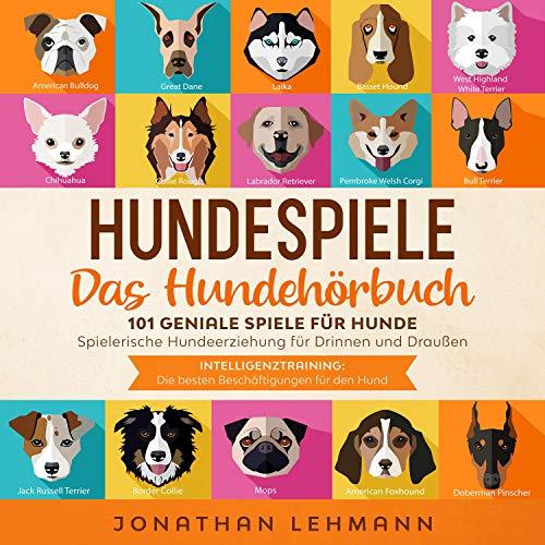 Hundespiele - Das Hundehörbuch Titelbild