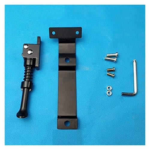 EMEI Soporte Eléctrico Scooter Balance Aparcamiento Soporte De Pie Soporte Fit para Ninebot Mini Pro para Xiaomi (Color : Black)