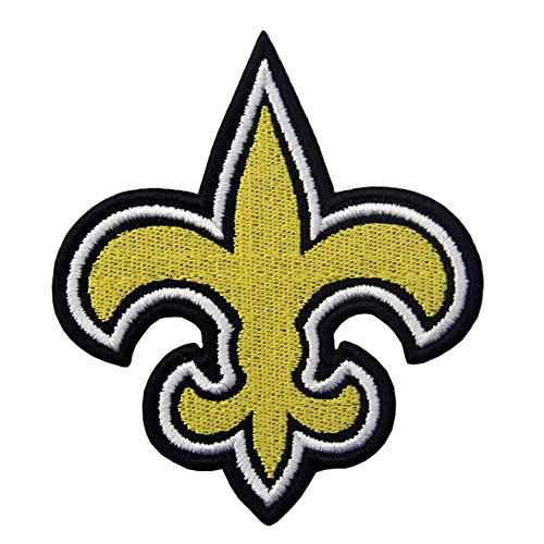 New Orleans Saints Logo Iron On/Sew On bestickt Patch