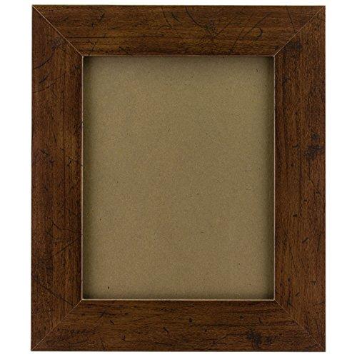 Craig Frames FM74DKW 5 by 7-Inch Picture Frame, Smooth Finish, 2-Inch Wide, Dark Brown