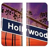 Rakuten BIGS 対応 スマホケース 全機種対応 手帳型 カリフォルニア california カジノ ルート66 route66 看板 ラスベガス 風景 スマートフォン ケース