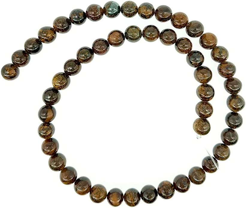Very Beautiful gift 4-12mm Natural Stone Beads Loose Round shop Bronzite P