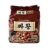★農心、「チャ王」チャワン◆ [ 4個パック]ジャージャー麺 韓国 ラーメン  【韓国食品】★