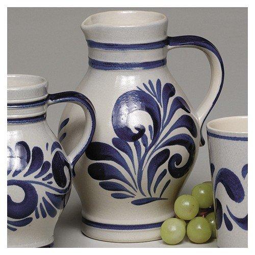 Kleiraba Weinkrug 2.00L Grau-Blau 1500
