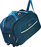 N Choice Waterproof Polyester Lightweight 40 L Luggage Travel Duffel Bag with 2
