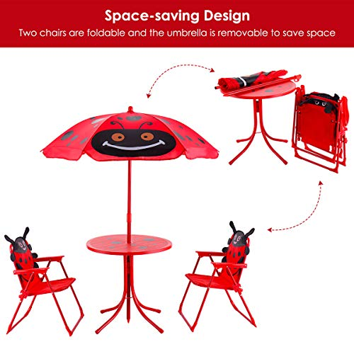 Kids Table and 2 Chairs Set by Cotzon
