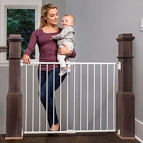 3. Regalo 2-in-1 Extra Wide Hallway And Stairway Safety Gate