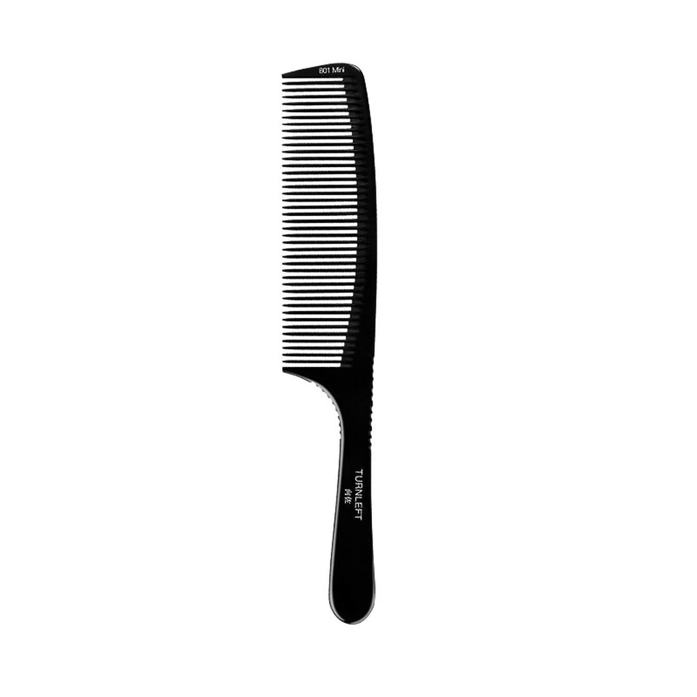 無駄戻る不確実Kpekey ワイド歯ブラシ櫛ヘアブラシフラットヘッド静電気防止用高温櫛 (色 : 黒)