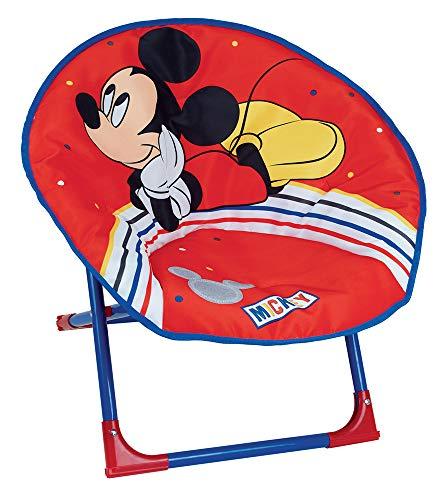 Fun House Pliable 713014 Disney Mickey Siège Lune pour Enfant, à partir de 3 Ans