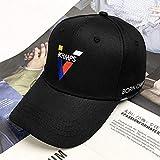 zgfeng Alphabetisch bestickter Entenzungenhut Herren-Sonnenschirm mit moderner Baseballmütze
