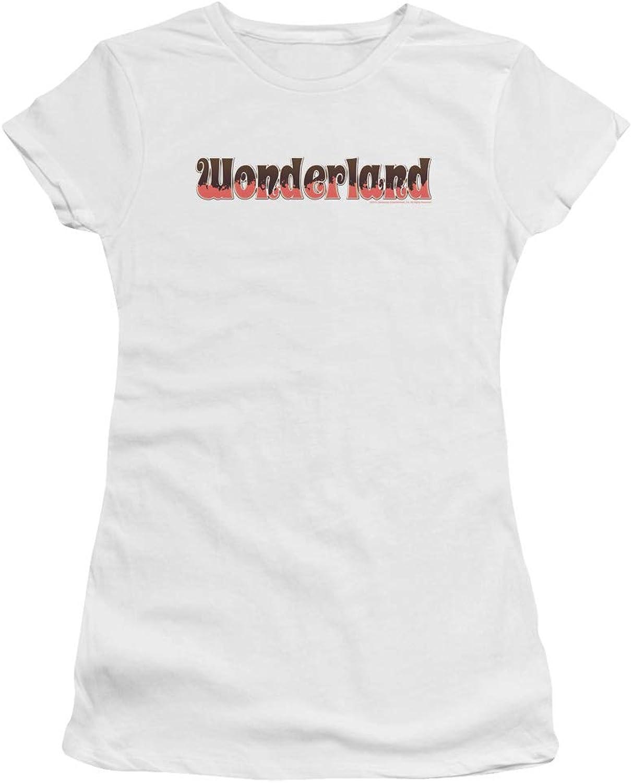 Zenoscope  Juniors Wonderland Logo Premium Bella TShirt
