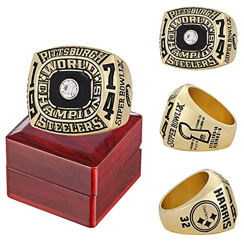 1974/1975/1978/1979/2005/2008 Pittsburgh Championship Ring Official...