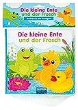 Badebuch Die kleine Ente und der Frosch: mit 1 Figur (Badebücher)