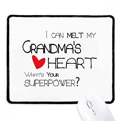 DIYthinker ik kan smelten mijn oma's hart nana anti-slip muismat spel office zwart teef randen gift