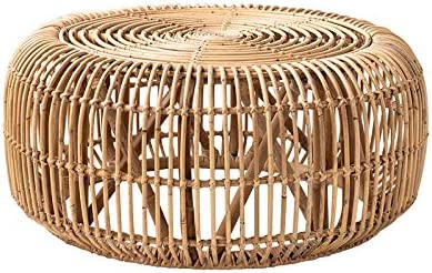 Best Home Side Table Furniture Rattan Coffee Table Living Room Round Tea Table Sofa Corner Side End Table