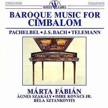 Baroque Music for Cimbalom