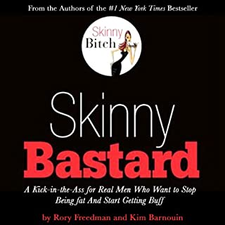 Skinny Bastard audiobook cover art