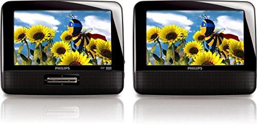 Philips Dvd Portátil 7 Pulg LCD Multiregion Mp3 PD701237 (Renewed)