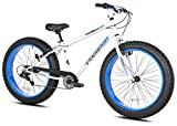 Takara Nobu Fat 26' Bike, 17.25'/One Size, White/Blue
