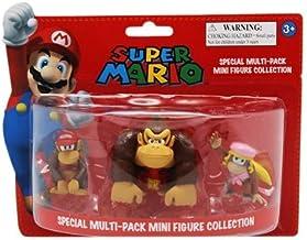 Action Figure 'Nintendo' - Pack DK : Donkey Kong, Diddy Kong, Dixie Kong - [Edizione: Francia]