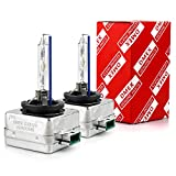 DMEX D3S HID Headlight Bulbs Xenon 6000K Cold White 35W Replacement 66340 42403 42302 Headlamp - Pack of 2