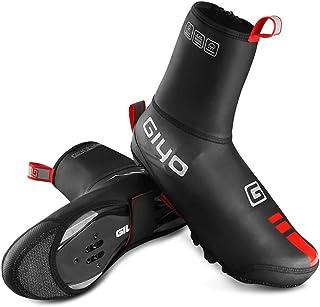 Lixada Copriscarpe da Ciclismo Invernali Antivento Antipioggia per Uomo Donne Copriscarpe Bici da Corsa Elastico Anti Sciv...