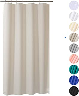 Best heavy duty plastic shower curtain Reviews