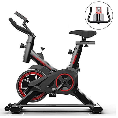 Bicicleta Estática para El Hogar Bicicleta De Spinning, Bicicleta Estática Vertical, ultrasport F-Bike, Pantallas LCD Súper Silenciosas, Ajuste De Resistencia Múltiple De Ejercicios