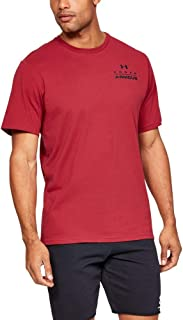 Under Armour Men's UA STACKED LEFT CHEST SS TEES AND T-SHIRTS