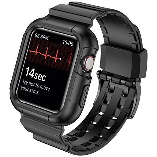 Baozai Protective Case with Sports Band for Apple Watch