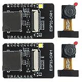 Haudang 2 Establezca La Cámara Esp32-Cam Módulo WiFi 4M Psram Dual-Core 32-bit CPU Development Board con Ov2640 Módulo De Cámara De 2Mp Imagen De Soporte WiFi Carga