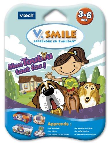 VTech–Cartucho de Juego V. Smile Motion () Mon Toutou Todo Loco 084265