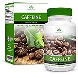 Koffeintabletten - Hochwirksam - 200mg Koffein Tabletten - Starke Koffeinpillen - Geeignet für...