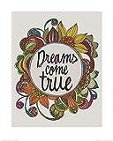 Pyramid International Valentina Ramos (Dreams Come True)–Lámina Decorativa (40x 50cm, Papel, Multicolor, 40x 50x 1,3cm)