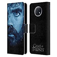 Head Case Designs オフィシャル ライセンス商品 オフィシャルHBO Game of Thrones Tyrion Lannister Winter Is Here Xiaomi Redmi Note 9T 5G 専用レザーブックウォレット カバーケース