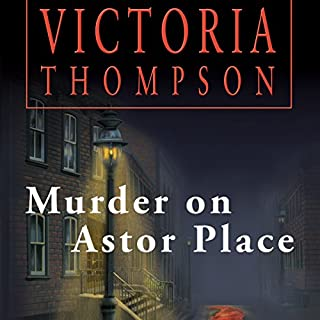 Murder on Astor Place audiobook cover art
